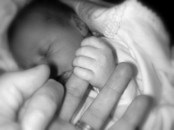 What Makes My Husband The Best Dad Baby Holding Dads Finger Newborn