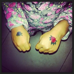 Being A Mom With Tattoos - It Does Not Make Me A Bad Parent Kid Temporary Tattoo