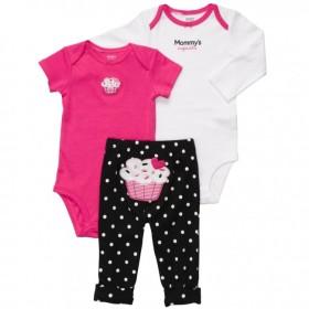 Baby Life Online Shop - My Wishlist... Cupcake 3-piece Pull On Pants Set