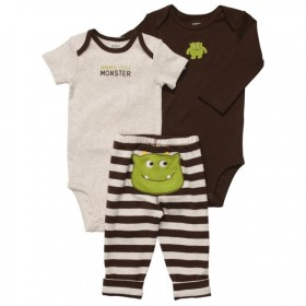 Baby Life Online Shop - My Wishlist... Monster 3-piece Pull On Pants Set