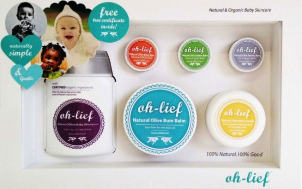 Baby Life Online Shop - My Wishlist... Oh-Lief Baby Starter Gift Pack Natural Baby Products
