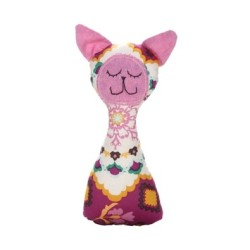 Baby Life Online Shop - My Wishlist... Myang Cerise Retro Cat Rattle handmade