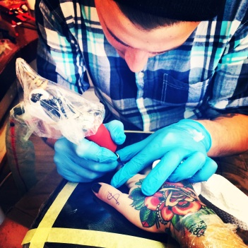 Being A Mom With Tattoos - It Does Not Make Me A Bad Parent Shaun Dean Cape Town Hand Tattoo Finger Tattoos