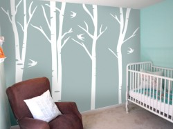 Baby Life Online Shop - My Wishlist... Tall Forest Branches Wall Art Set
