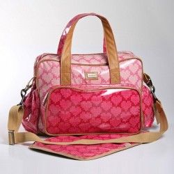 Baby Life Online Shop - My Wishlist... Thandana Nappy bags coral pink hearts