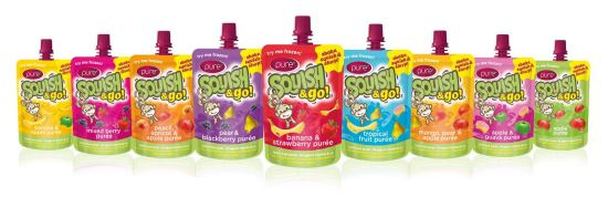 {Product Review} Squish Fruit Snacks - Helping Me With My Picky Toddler Squish and Go Flavours