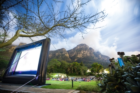 An Unforgettable Date Night Under The Stars in Cape Town - The Galileo Open Air Cinema