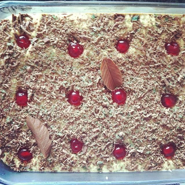 Recipe - Peppermint Crisp Fridge Tart {Christmas Tradition}