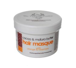 The Victorian Garden African Indigenous Collection: Cocoa & Mafura Butter with Orange & Rosemary Hair mask - Natural Hair Mask