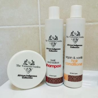 Cruelty-Free Brands We Love: The Victorian Garden Product Review Basil & Rooibos Shampoo and Argan & Vanilla Conditioner