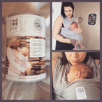 {Review} NooNoo Pie Tie... Snug And Free, The Natural And Flexible Baby Carrier {GIVEAWAY CLOSED} getting babywearing wrong