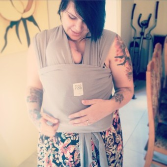 {Review} NooNoo Pie Tie... Snug And Free, The Natural And Flexible Baby Carrier Babywearing newborn
