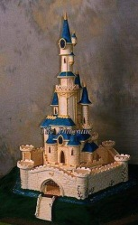 D.I.Y - Attempt At A Castle Birthday Cake