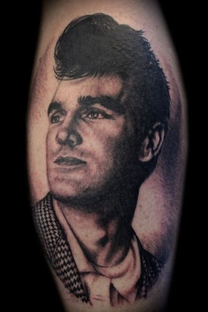 {Interview} Tattoo Artist Tamar Thorn Talks To Us About Her Past Life, Tattoos And A Beautiful Future. No Egos, No Bullshit, Just Passion. Morrissey Portrait Tattoo