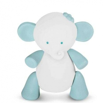Babalove - Online Shop For Baby And Mom Battery Operated Baby Night Lights Blue Elephant