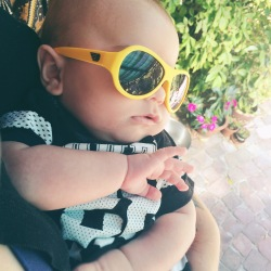{Product Review + 20% Discount} Babiators - For All The Cool Kids! yellow durable baby sunglasses
