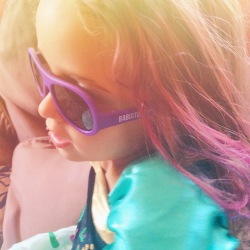 {Product Review + 20% Discount} Babiators - For All The Cool Kids! Purple durable kids sunglasses