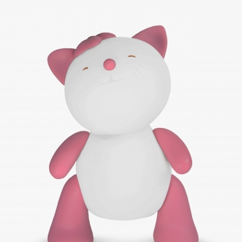 Babalove - Online Shop For Baby And Mom Battery Operated Baby Night Lights - Pink Kitty