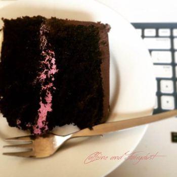 Caffeine and Fairydust Chocolate Ganache Cake Bosworth Bakery