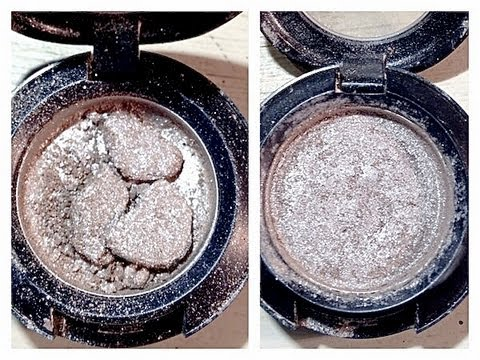Beauty Tip: How To Fix Broken Eyeshadow