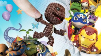 Little Big Planet Playstation PS Vita Marvel Edition Caffeine and Fairydust Review