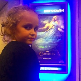 Today I Took My Daughter On A Cinderella Date... And We Learned Some Valuable Lessons! Ster Kinekor Cinderella 2015