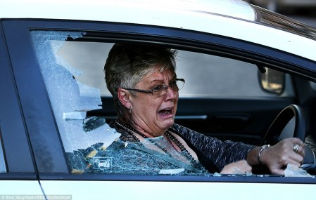 South Africa Is Breaking My Heart, I Cry For My Beloved Country - White Privilidge Racism Rhodes Must Fall Xenophobia Carol Lloyd was left injured and covered in blood after rocks were thrown at and shattered her car window in the latest wave of anti-immigrant protests near Johannesburg in South Africa