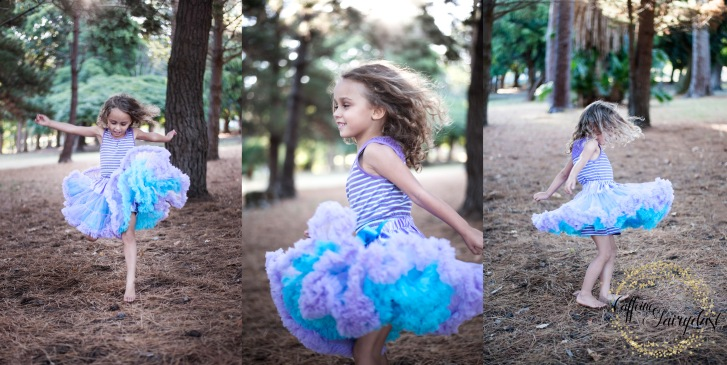Caffeine and Fairydust 4AKid Review Smitten Flutter Petti-Tutu skirt in Lavender-Turqoise Tutu Frilly Dress Lauren Pretorius Photography Toddler