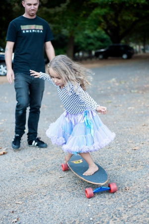 Caffeine and Fairydust - Our Family Photoshoot With Lauren Pretorius Photography Skateboarding Little Girl Skateboarding in tutu