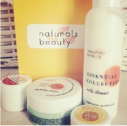 Naturals Beauty Product Review Caffeine and Fairydust - The Essential Collection