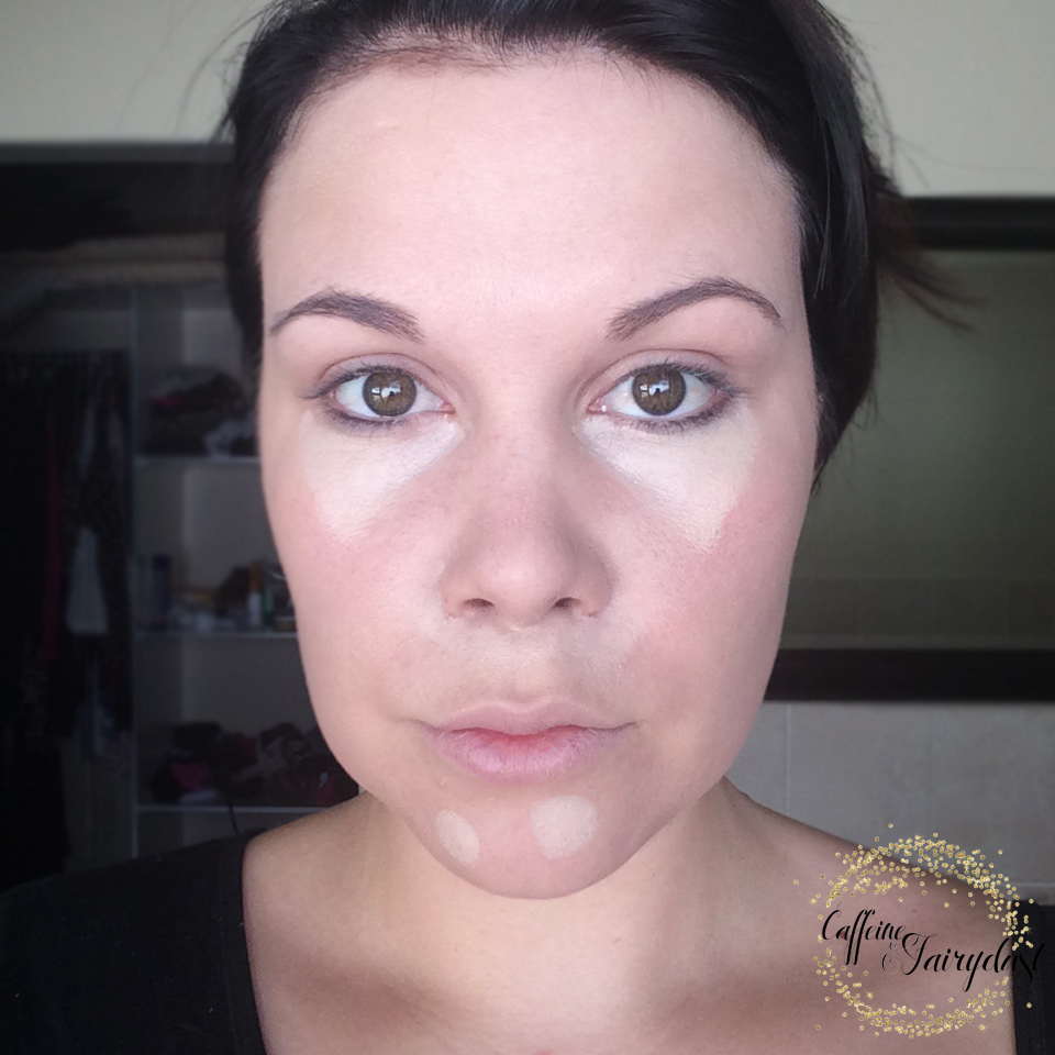Easy, quick make-up tutorial and tips for tired and busy moms with.