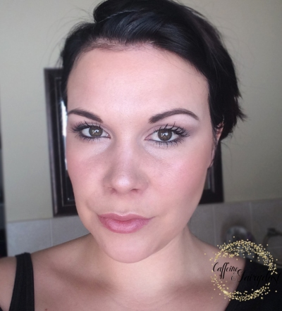 Make-up Tutorial For Tired And Busy Moms End Result