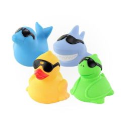 Load shedding With Little Kids In The House Is A Pain... But You Can Make It Fun! LED Light Bath Toys shark duck turtle dolphin